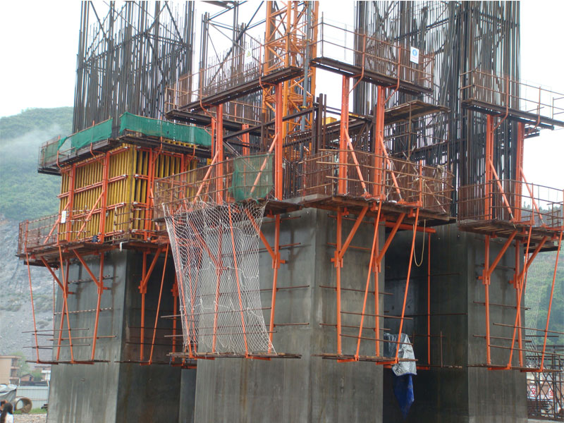 Formwork Bridge Construction