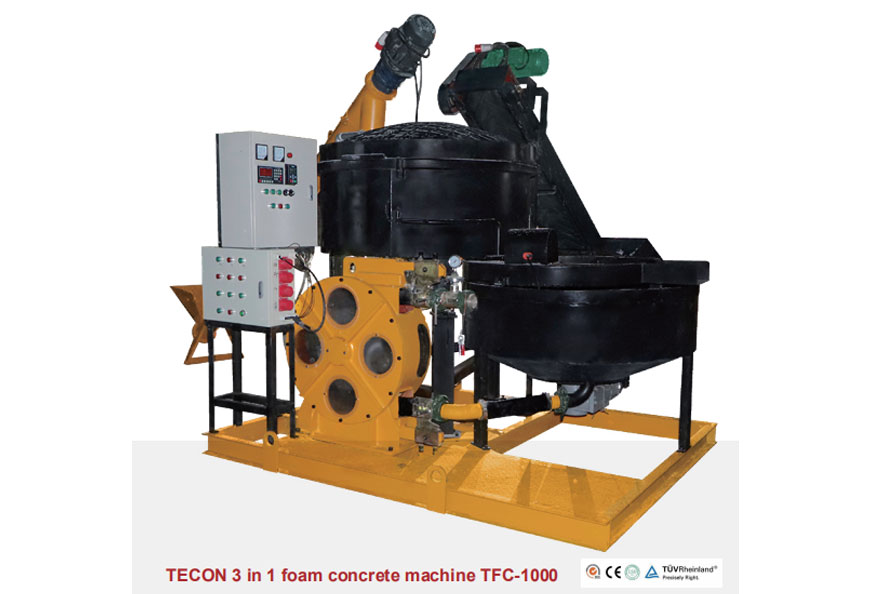 TECON 3 In 1 Foam Concrete Machine TFC-1000